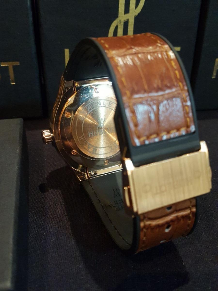 47f48e595d1 Relógio Hublot Big Bang Gold Masculino Geneve Envio Grátis - R  120 ...