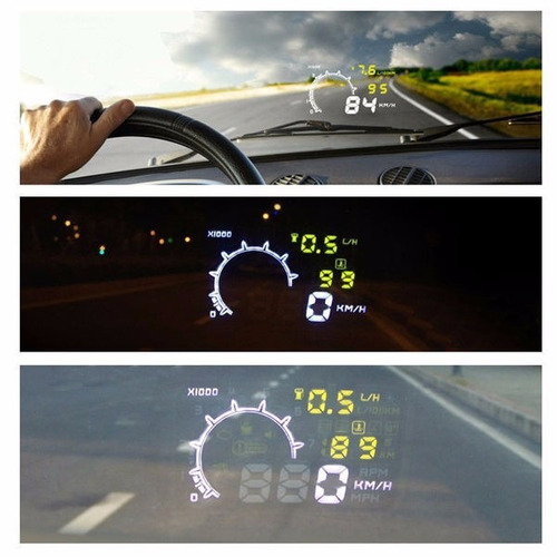 hud head up display visualizacion parabrisas obdii