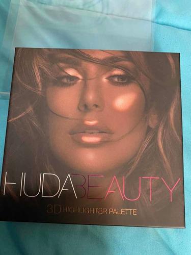 huda beauty 3d highlighter palette bronze sands - original