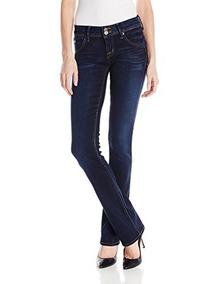 en venta 7e522 d7021 Hudson Jeans Mujer Beth Baby Bootcut Flap Bolsillo Elysian D