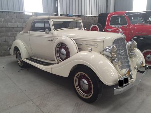 hudson six convertible coup de coleccion año 1935 permuto