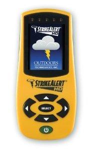huelga alerta hd rayo detector amarillo