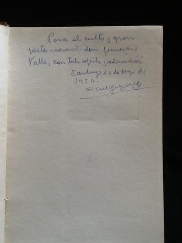 huellas. cuentos - carlos fuenzalida valdivia - firmado