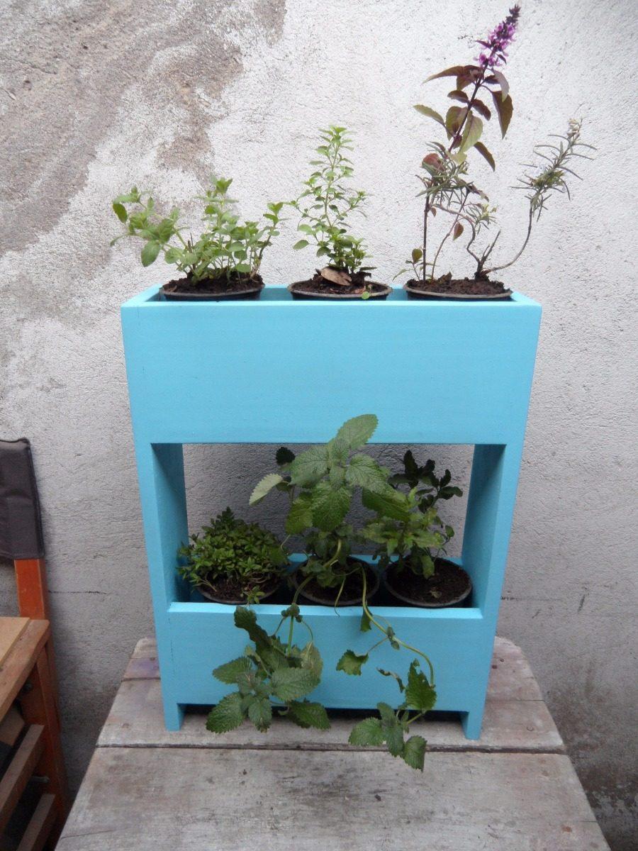 Huerto vertical hierbas aromaticas y medicinales 6 plantas for Hierbas aromaticas y medicinales
