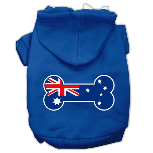 hueso conformado australiano bandera pantalla impresión sud