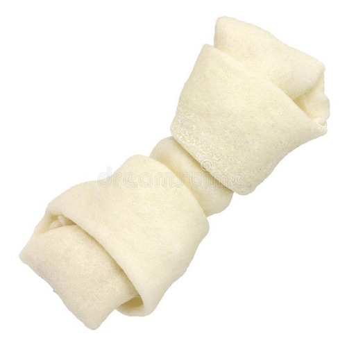 hueso de cuero blanco 13cm 5/6 golosina perro