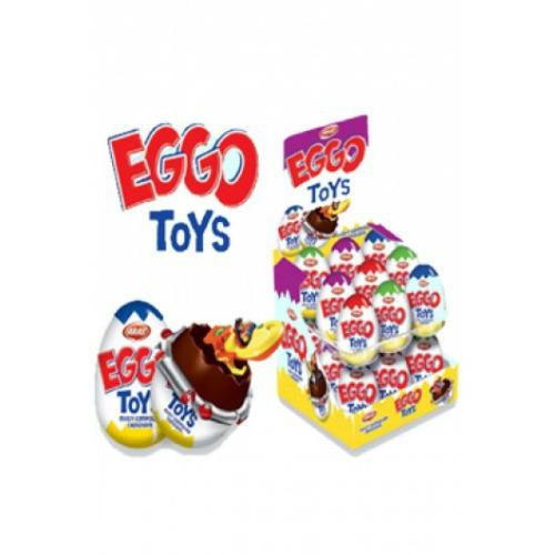 huevo de chocolate sorpresa no kinder caja x 24un - ego toy
