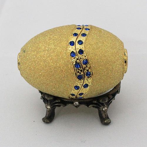 huevo faberge decorativo varios modelos yf05-fb1421 -22