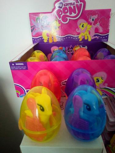 huevo sorpresa 12cm  lol pony shopkins pijamask