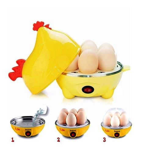 huevos al vapor vaporera olla electrico huevos perfectos