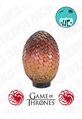 huevos de dragon game of thrones targaryen sala