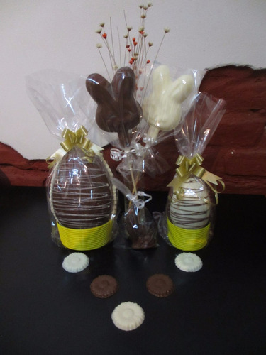 huevos de pascua artesanales nro 16 x3u