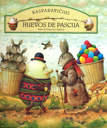 huevos de pascua, kasparavicius, ed. fce