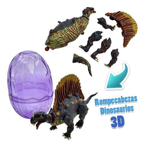 huevos dinosaurio rompecabezas 3d huevo sorpresa juguete x1