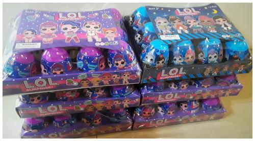 huevos lol muñecas +accesorios sorpresas pequeño juguete