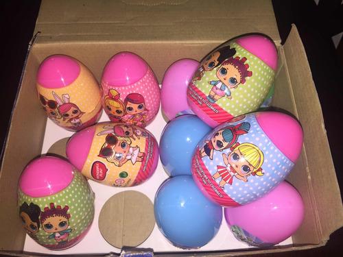 huevos lol surprise 10cm sorpresa dentro del huevo niñas