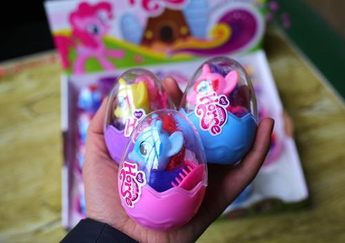huevos my little pony sorpresa set 4 uds