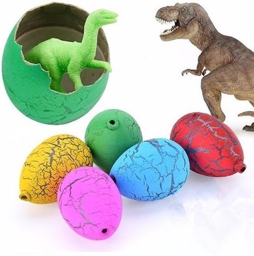huevos sorpresa dinosaurio crecen en el agua x 6 unidades