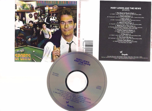 huey lewis & the news - sports -  cd - by maceo