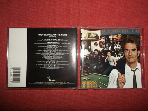 huey lewis & the news - sports cd usa ed 1990 mdisk