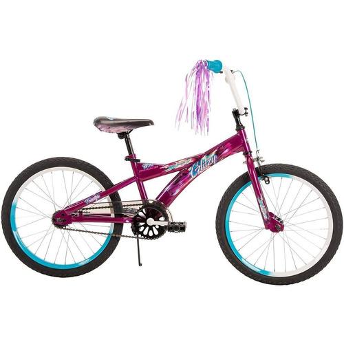 huffy - bicicleta aro 20  glitzy para niña