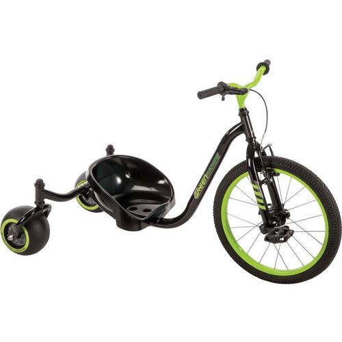 huffy - triciclo green machine drift trike de 3 ruedas