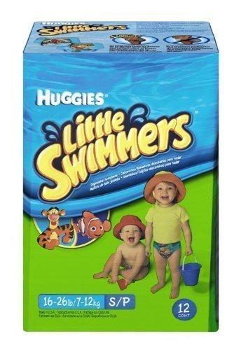 huggies little swimmers pañales desechables de natación, pe