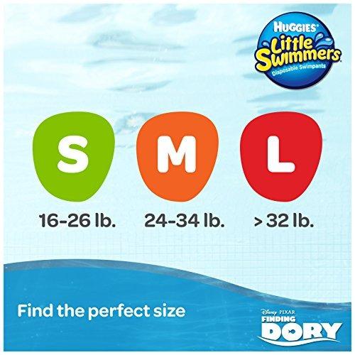 huggies little swimmers pañales - pequeño - 20 ct