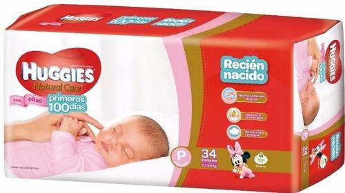 huggies natural care primeros 100 días (p ellas)