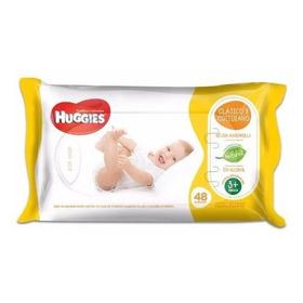 Huggies Toallitas Húmedas Clásicas Y Cotidianas X 48 U.