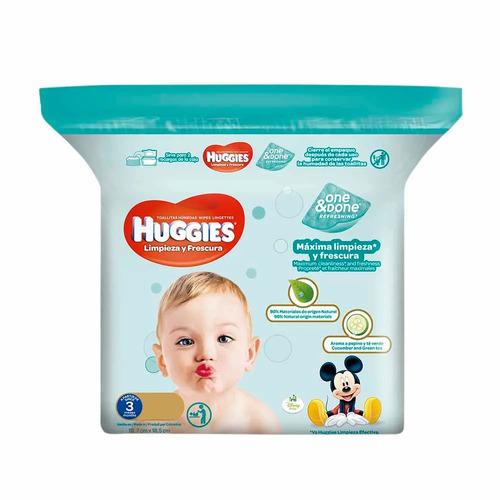 huggies toallitas humedas one 160uni