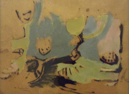 hugo baptista / acuarela / 35x45 / paris 1960