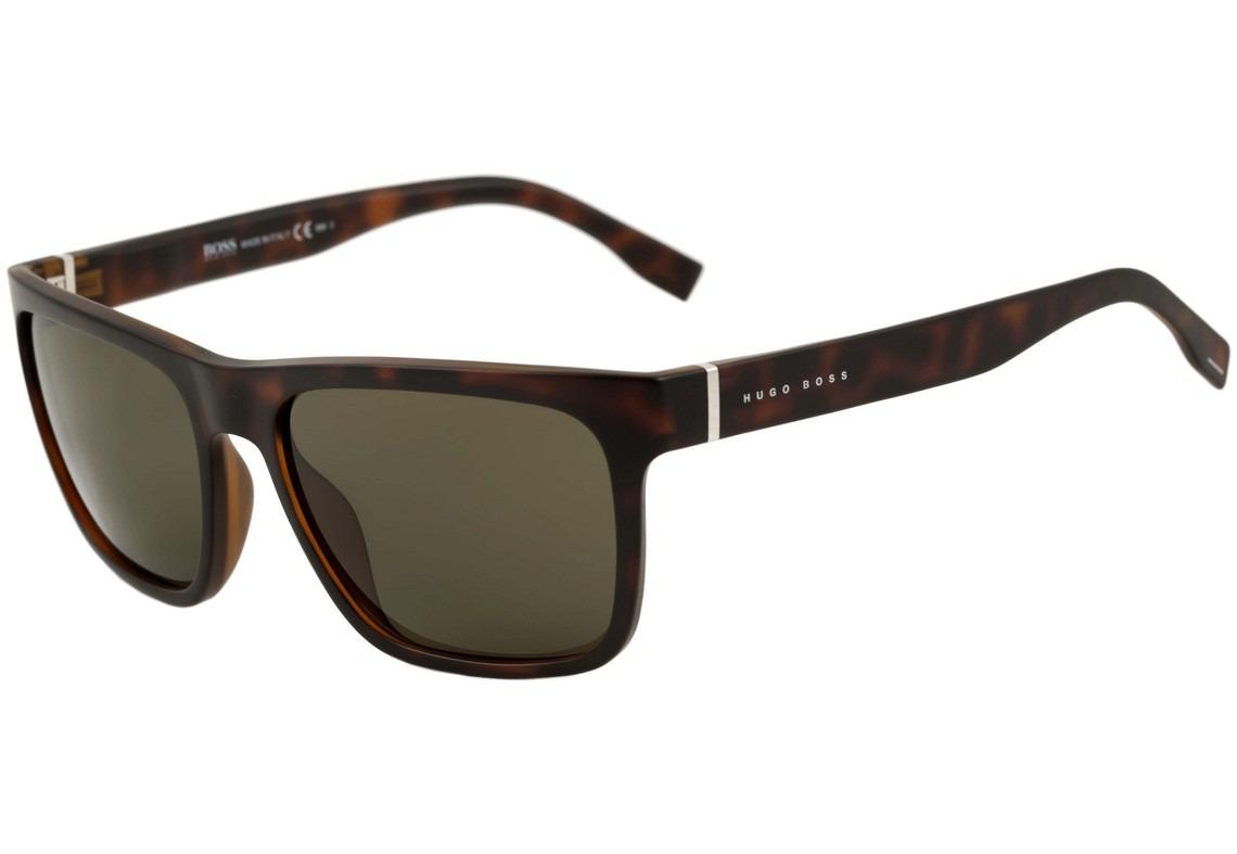 f5a050e8088e3 Hugo Boss 0727 S - Óculos De Sol Dwj 70 Marrom Mesclado - R  524