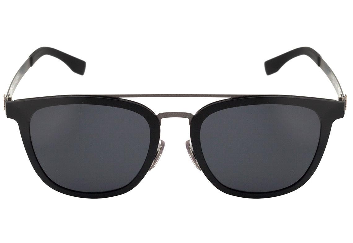 hugo boss 0838 s - óculos de sol 793 preto fosco  cinza -. Carregando zoom. 89930b2dbe