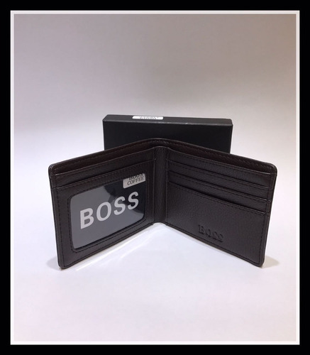 hugo boss billetera