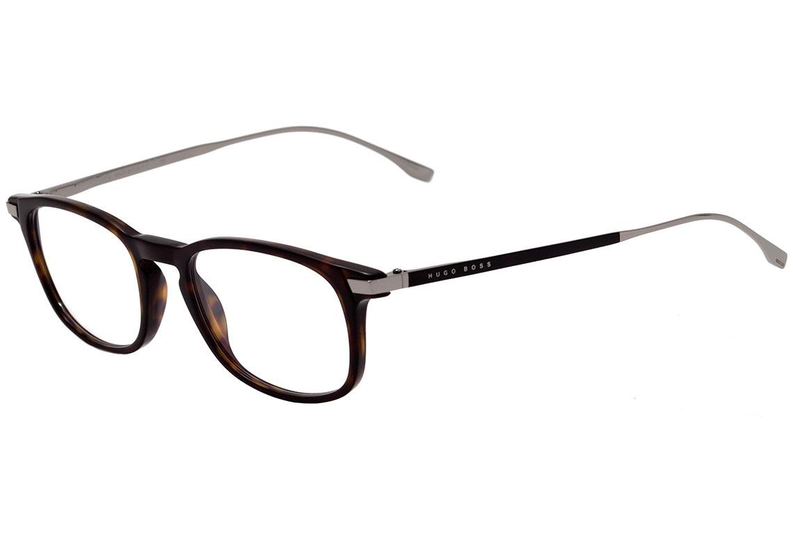 104e4ab67b4481 hugo boss boss 0786 - óculos de grau 0pc 20 marrom mesclado. Carregando  zoom.