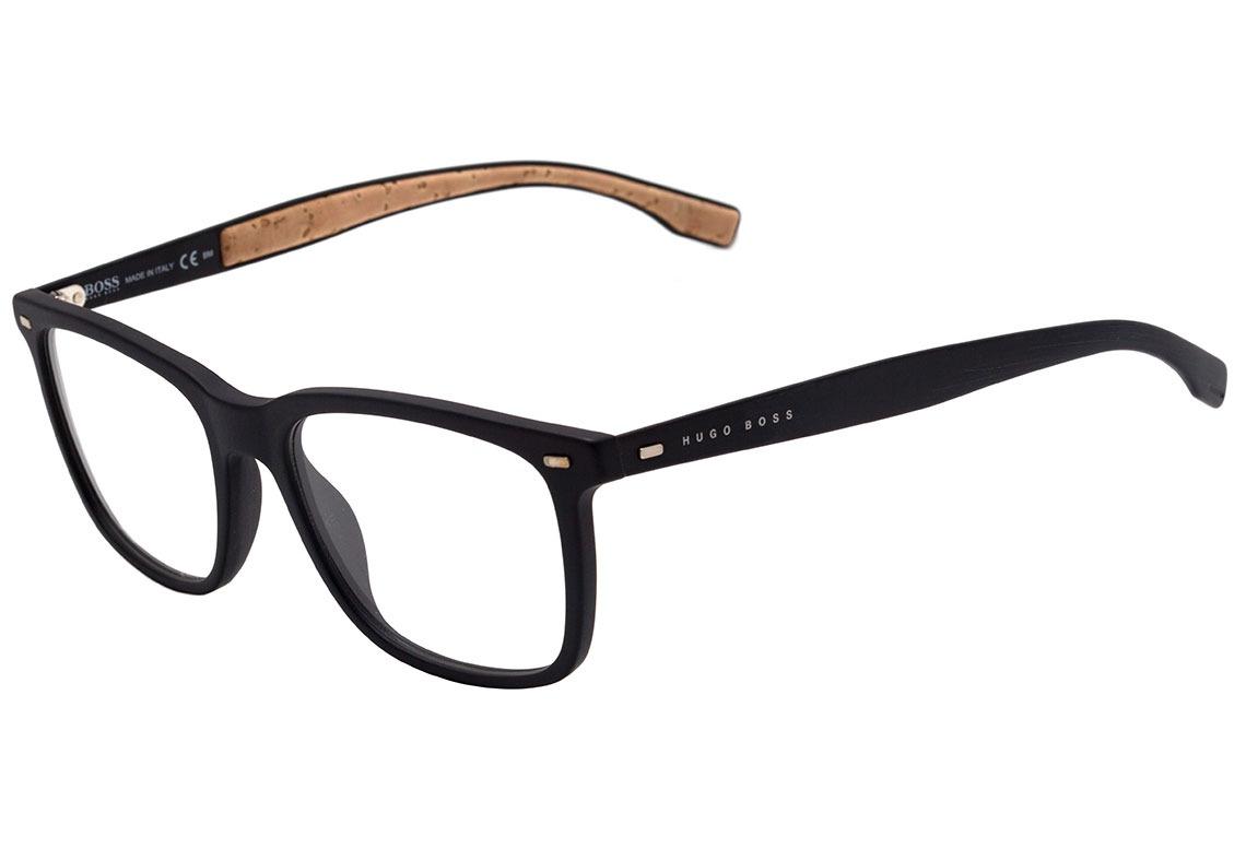 hugo boss boss 0884 - óculos de grau 0r5 18 preto e bege. Carregando zoom. ed40bc7e00
