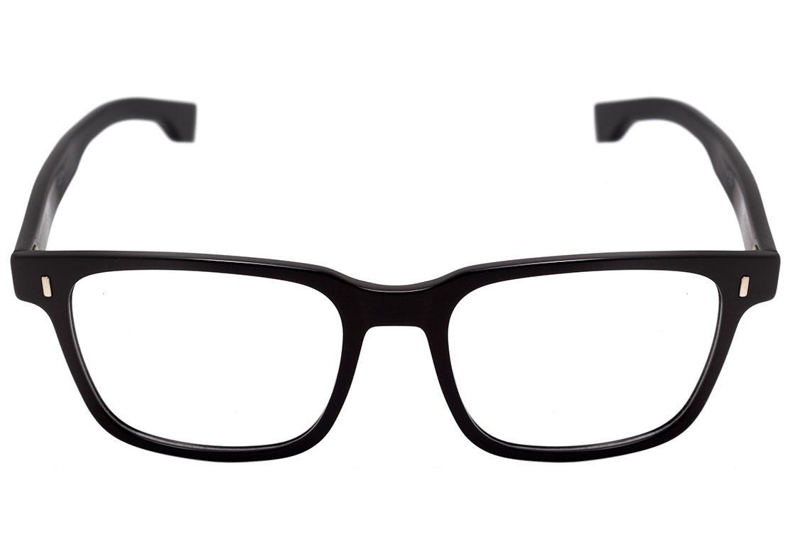 547be3eaa hugo boss boss 0957 - óculos de grau 807 18 preto brilho len. Carregando  zoom.
