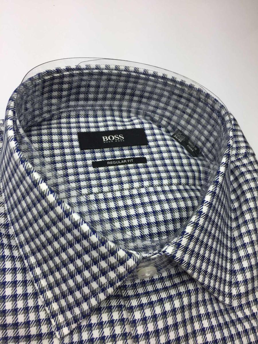 d0214460211de Hugo Boss Camisa Hombre Black Label M 15.1 2 -   289.900 en Mercado ...