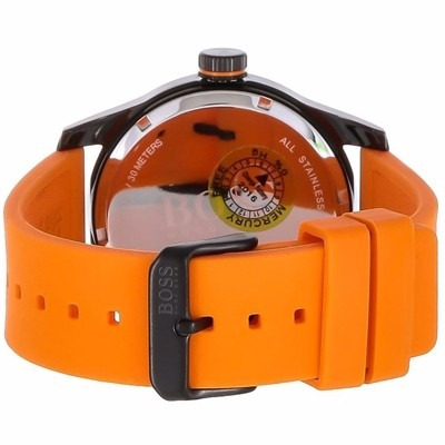 bf0e7a5cfd34 reloj hugo boss hb1513047 orange acero garantia. Cargando zoom.