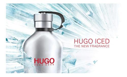 hugo iced hugo boss eau de toilette masculino 125ml blz