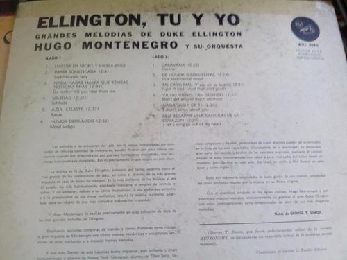 hugo montenegro lp ellington  tu y yo      duncant