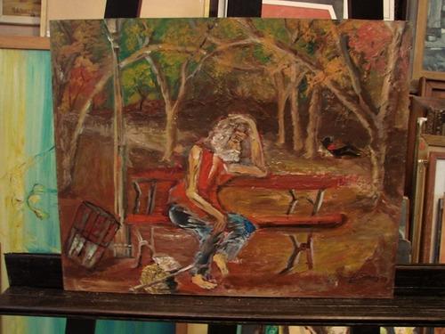 hugo sosa / indigente homeless / 40 x 50 cm # 1412