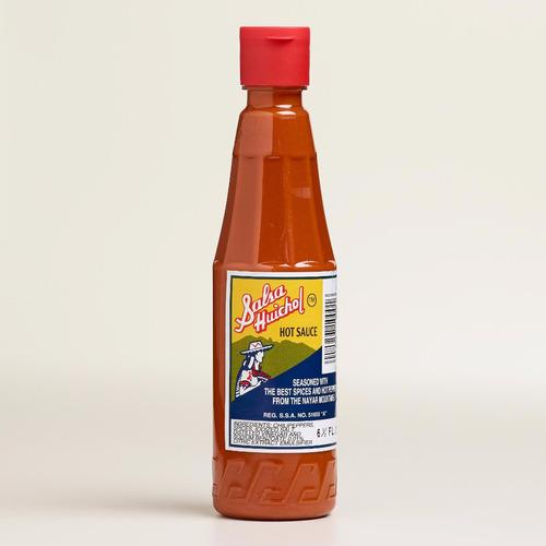 huichol salsa de tepic nayarit, salsa mexicana, 190 ml.