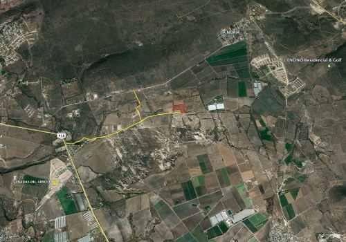 huimilpan parcela de 2 y media hectáreas. carretera 420