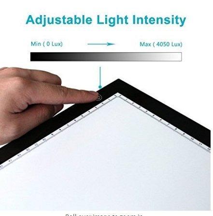 huion 23.5 pulgadas led light box tracer fotografía artcraft