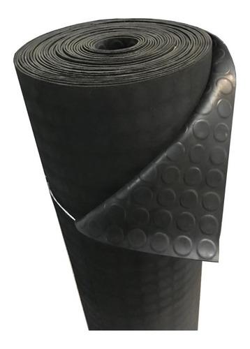 hule piso rollo ancho 1m x 5m antiderrapante bolitas hule para gimnasios pasillos y pisos de alto trafico y resistencia