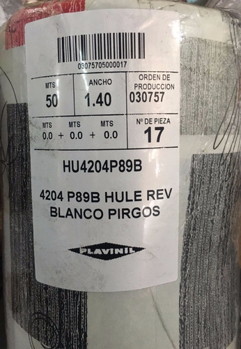 hulenil blanco plavinil