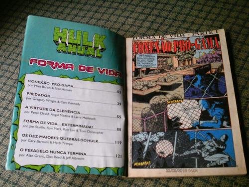hulk anual 1 - editora abril (formatinho) leia o anuncio !