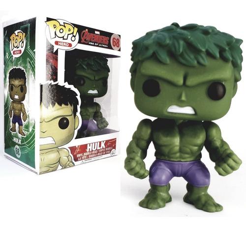 hulk avengers age of ultron version simil funko pop 9 cm